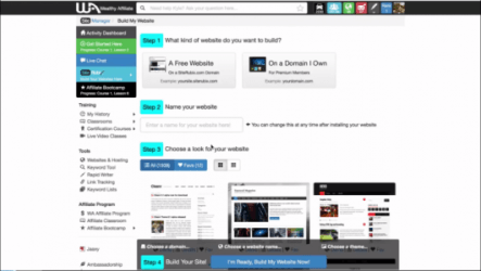 Watch Now: Create a website in less than 30 seconds